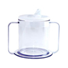 Providence Spillproof PSC Independence Mug with 2-Handle and Lid, 9 oz., 3/PK IND PIPSC49-PK