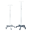 """iv stand: PMI - 5 Leg Two Prong Twist Lock I.V. Pole, 47"""" to 85"""" Height Adjustments, 2/BX"""