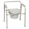 bedpans & commodes: PMI - ProBasics 3-in-1 Folding Commode, 350 lb. Weight Capacity, REPLACES ZCH720102, 1/EA