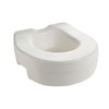 bathroom aids: PMI - ProBasics Raised Toilet Seat, 350 lb Weight Capacity, REPLACES ZCHRTS04, 1/EA