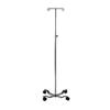 iv stand: PMI - ProBasics IV Pole, 4 Leg, 2 Hook, REPLACES ZCH10170, 1/EA