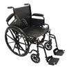 PMI ProBasics K1 Standard Wheelchair, 16 x 16, 1/EA IND PMIWC11616DS-EA