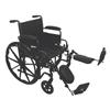 PMI ProBasics K2 Standard Hemi Wheelchair, 20 x 16, 1/EA IND PMIWC22016DE-EA