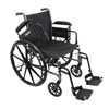 PMI K3-Lite Wheelchair with Removable Desk-Length Arms and Swing-Away Footrests, 18 x 16, 1/EA IND PMIWC31816DS-EA