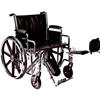"""Rehabilitation: PMI - K7 Extra Heavy Duty Wheelchair, 22"""" x 18"""", 1/EA"""