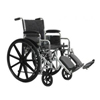 PMI K7-Lite Wheelchair with Removable Desk Arms and Swing-Away Footrests, 22 x 18, 1/EA IND PMIWC72218DS-EA