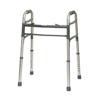 PMI Aluminum Adult Walker, 2 Button, without wheels, 4/CS IND PMIWKAAN2B-CS