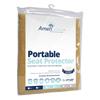 Fiberlinks Textiles Waterproof Chair Pad 21 x 22, Almond, 1/EA IND PRA2122AL-EA
