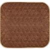 Fiberlinks Textiles Waterproof Chair Pad 21 x 22, Brown, 1/EA IND PRA2122BR1-EA