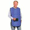 Fiberlinks Textiles Mealtime Protector, Cotton, 18 X 36, Blue Paisley, 1/EA IND PRP13836SBP-EA
