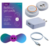 Pain Management Tech iTENS Device With Large Wings, 1 Pair Electrodes, USB Charger and Manual, Blue, 1/EA IND PVITENSBLL-EA