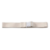 """Ring Panel Link Filters Economy: Mobility Transfer Systems - Gait Belt, Plastic Buckle, White, 72"""", 1/EA"""
