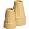 """canes & crutches: Apex-Carex - Standard Crutch Tip, Pair, 7/8"""", Short Term Use, 1/EA"""