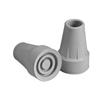 "canes & crutches: Apex-Carex - Standard Crutch Tip, 7/8"", Gray, 12/CS"
