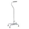 canes & crutches: Apex-Carex - Large Base Offset Quad Cane, Silver, 2/CS