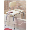 transfer bench: Apex-Carex - Vinyl Padded Bathtub Transfer Bench w/Cut Out, Pail, 1/EA