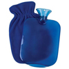 heat and cold therapy: Apex-Carex - Hot Water Bottle with Fleece Cover, 1/EA