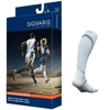 Sigvaris Performance Sock Calf, 20-30 mmHg, Size XL, Closed Toe, White, 2/PK IND SG412CXL00-PK