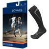 Sigvaris Performance Sock Calf, 20-30 mmHg, Size XL, Closed Toe, Black, 2/PK IND SG412CXL99-PK
