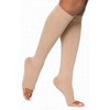 Sigvaris Natural Rubber Knee-High Stockings, 40-50, X-Lrg, Full, Long, Open Toe, Beige, 1/EA IND SG504CX4O77-EA