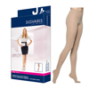 Sigvaris EverSheer Pantyhose, 15-20, Large, Long, Closed, Natural, 1/EA IND SG781PLLW33-EA