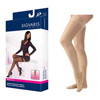 Sigvaris EverSheer Thigh-High with Grip-Top, 20-30, Large, Short, Closed, Natural, 1/EA IND SG782NLSW33-EA