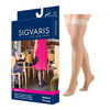 Sigvaris EverSheer Thigh High with Grip-Top, 20-30, Small, Long, Closed, Natural, 1/EA IND SG782NSLW33-EA