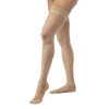 Sigvaris EverSheer Womens Thigh-High 20-30 Stocking w/Grip-Top, Small, Short, Closed Toe, Suntan, 1/EA IND SG782NSSW36-EA