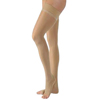 Sigvaris EverSheer Thigh-High with Grip-Top, 30-40 mmHg, Small, Long, Open Toe, Suntan, 1/EA IND SG783NSLO36-EA