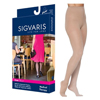 Sigvaris EverSheer Pantyhose, 30-40, Small, Long, Closed, Natural, 1/EA IND SG783PSLW33-EA