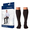 Sigvaris Midtown Microfiber Calf, 20-30 mmHg, Large, Long, Closed, Black, 1/EA IND SG822CLLM99-EA