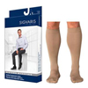 Sigvaris Midtown Microfiber Calf, 20-30, Large, Long, X-Long Foot, Closed, Tan/Khaki, 1/EA IND SG822CLXM32-EA