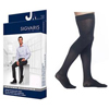 Sigvaris Midtown Microfiber Thigh-High with Grip-Top, 20-30, Large, Short, Closed, Black, 1/EA IND SG822NLSM99-EA