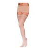 Sigvaris Soft Opaque Womens Thigh-High with Grip-Top, 15-20 mm, Large Short, Nude, 1/EA IND SG841NLSW35-EA