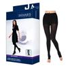Sigvaris Soft Opaque Pantyhose, 20-30, Medium, Long, Open, Black, 1/EA IND SG842PMLO99-EA