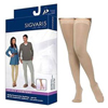 Sigvaris Select Comfort Thigh-High with Grip-Top, 30-40, Medium, Short, Closed, Natural, 1/EA IND SG863NMSW33-EA