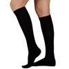 Sigvaris Select Comfort Womens Knee-High Stockings, Large Long, 30 - 40 mmHg, Black, 1/EA IND SG86CLL099-EA