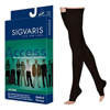 Sigvaris Access Thigh-High with Grip-Top, 20-30, Large, Long, Open, Black, 1/EA IND SG972NLLO99-EA