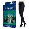 Sigvaris Access Pantyhose, 20-30, Large, Long, Open, Black, 1/EA IND SG972PLLO99-EA