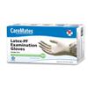 Shepard Medical CareMates Latex Textured Gloves, Large, 100/BX IND SPD10313020-BX
