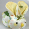 Stephan Baby Boo-Bunnie Comfort Toy, Multi Dot, 1/EA IND STP690647-EA