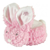 Stephan Baby Boo-Bunnie Comfort Toy, Woolly Light Pink, 1/EA IND STP692006-EA