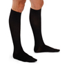 Knit-Rite Mens Mild Ribbed Dress Support Socks Large, Black, 1/EA IND TG68312-EA