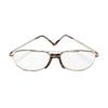 OTC Meds: Sun Ban Fashions - Today's Optical Half Eye Fashion Reading Glass +2.50 Power, Plastic/Metal Frame. Silver/Chrome, 1/EA