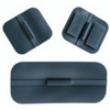 Cardinal Health Specialty Carbon Rubber Electrode 1-3/4x 4 Rectangle, 4/PK IND UP575-PK