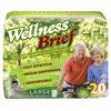 Unique Wellness Brief Super Absorbent X-Large 47 - 67, 20 EA/PK, 3 PK/CS IND UW3155-CS