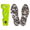 Airfeet CLASSIC Camo Insoles, Size 1X, One Pair IND YFAF00C1XC-EA