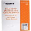 Cardinal Health Silicone Adhesive Border Foam, 7.4 x 7, 1/EA IND ZDSF77SB-EA