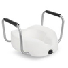 Invacare: Invacare - Clamp-On Raised Toilet Seat With Arms