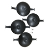 Invacare Aquatec Extra Large Suction Cups INV 16240AQT